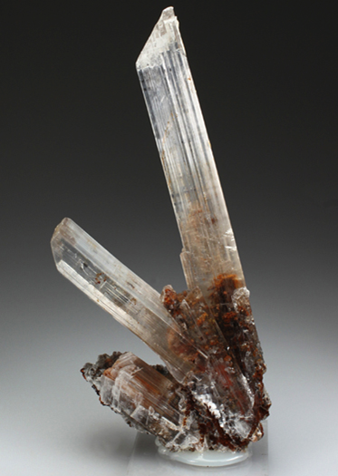 Excellent crystals of Gypsum. From the Lavrion Mines.