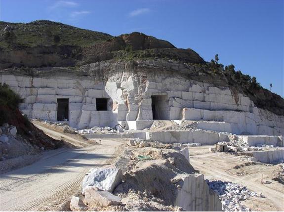 Mining Greece Marble
