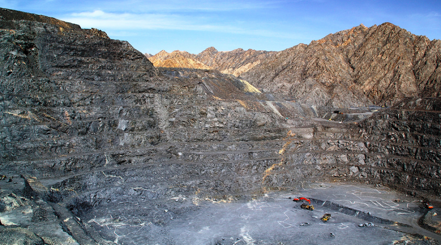 Tanjianshan is an open pit gold mine located in Qinghai Province in northwest China.(Image courtesy of Eldorado Gold)